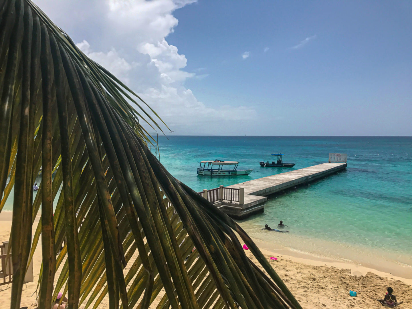 Montego bay Beach Doctor's Cave Travel Blog image robbienroute